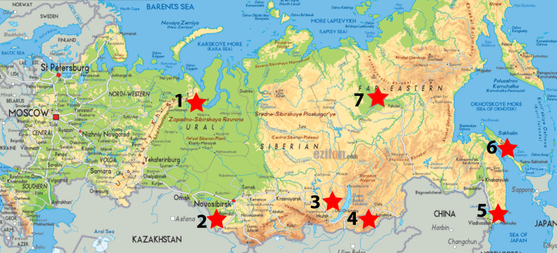 marked-russia-map